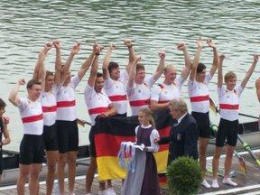 Peter Kluge bei der Siegerehrung
